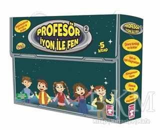 Profesör İyon ile Fen 2 (5 Kitap Takım Kutulu)
