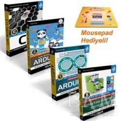 Kodlab Yayın Dağıtım - Projeler İle Arduino Eğitim Seti (4 Kitap Takım)