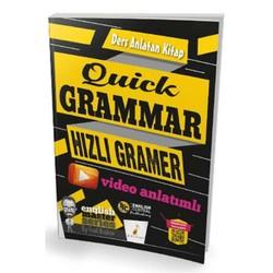 Pelikan Tıp Teknik Yayıncılık - Quick Grammar Video Anlatımlı Ders Anlatan Kitap