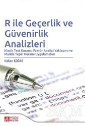Pegem Akademi Yayıncılık - Akademik Kitaplar - R ile Geçerlik ve Güvenirlik Analizleri