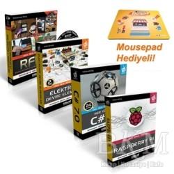 Kodlab Yayın Dağıtım - Raspberry Pi Proje Seti (4 Kitap Takım)