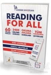 Pelikan Tıp Teknik Yayıncılık - Reading For All Soru Çözümleri Video Anlatımlar Kelime Çalışmaları
