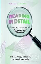 Ankara Dil Akademisi - Reading In Detail
