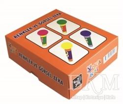 Yuka Kids - Renkler ve Görsel Zeka (4-7 Yaş)