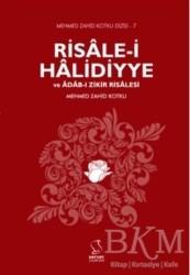 Server Yayınları - Risale-i Halidiyye ve Adab-ı Zikir Risalesi