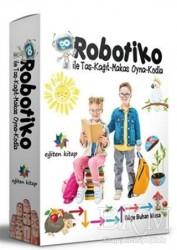 Eğiten Kitap - Robotiko ile Taş-Kağıt-Makas Oyna-Kodla