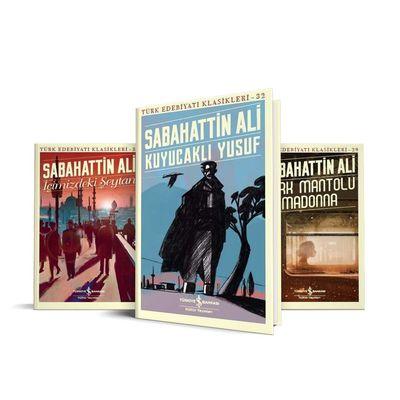 Sabahattin Ali 3 Kitap Set İş Bankası Kültür Yayınları