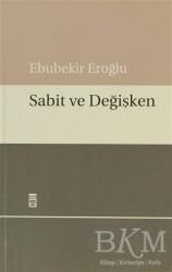 Timaş Yayınları - Sabit ve Değişken
