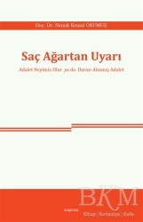Araştırma Yayınları - Saç Ağartan Uyarı