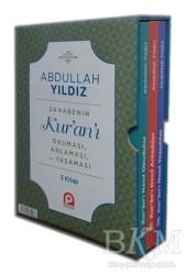 Pınar Yayınları - Sahabenin Kur'an'ı Okuması, Anlaması ve Yaşaması ( 3 Kitap Set )