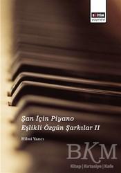 Eğitim Yayınevi - Ders Kitapları - Şan İçin Piyano Eşlikli Özgün Şarkılar 2