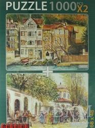 Gordion Games - Sarıyer - Eski Pazar Girişi Puzzle X 2 1000 Parça