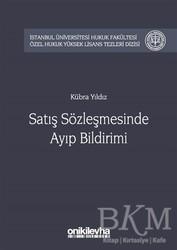 On İki Levha Yayınları - Satış Sözleşmesinde Ayıp Bildirimi