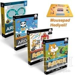 Kodlab Yayın Dağıtım - Scratch ile Arduino Eğitim Seti (4 Kitap)