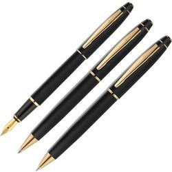 Scrikss - Scrikss 35 3lü Kalem Seti Mat Siyah Altın