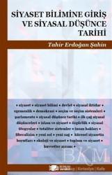 Berikan Yayınları - Siyaset Bilimine Giriş ve Siyasal Düşünce Tarihi