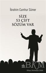 Elpis Yayınları - Size 53 Çift Sözüm Var