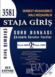 Derin Yayınları - SMMM Staja Giriş Soru Bankası Çözümlü Sorular - Testler