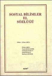 Alfa Aktüel Yayınları - Sosyal Bilimler El Sözlüğü