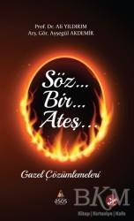 Asos Yayınları - Söz Bir Ateş