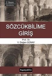 Papatya Yayıncılık - Sözcükbilime Giriş (2. basım)
