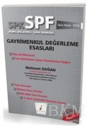 Pelikan Tıp Teknik Yayıncılık - SPK - SPF Gayrimenkul Değerleme Esasları Konu Anlatımlı Soru Bankası