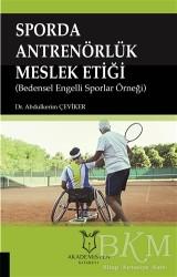 Akademisyen Kitabevi - Sporda Antrenörlük Meslek Etiği