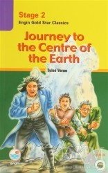 Engin Yayınevi - Stage 2 Journey to the Centre of the Earth (CD Hediyeli)