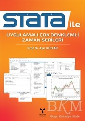 Umuttepe Yayınları - Stata İle Uygulamalı Çok Denklemli Zaman Serileri