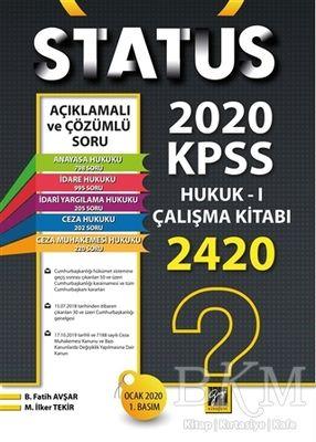 Status 2020 Kpss Hukuk - 1 Çalışma Kitabı