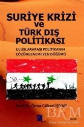 Sayda Yayınları - Özel Ürün - Suriye Krizi ve Türk Dış Politikası