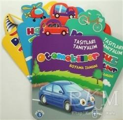 Timaş Çocuk - Klasikler - Taşıtları Tanıyalım Seti (5 Kitap)