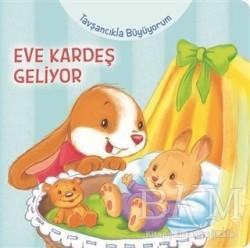 Net Çocuk Yayınları - Tavşancıkla Büyüyorum - Eve Kardeş Geliyor