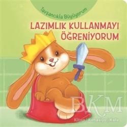Net Çocuk Yayınları - Tavşancıkla Büyüyorum - Lazımlık Kullanmayı Öğreniyorum