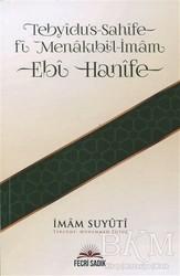 Fecri Sadık Yayınları - Tebyidu's-Sahife Fi Menakıbi'l-İmam Ebi Hanife