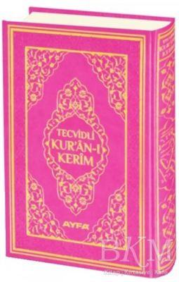 Tecvidli Kur'an-ı Kerim Cami Boy Mühürlü Pembe Kapaklı 135TR
