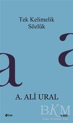 Şule Yayınları - Tek Kelimelik Sözlük