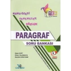 Yayın Denizi Yayınları - TEK Serisi Paragraf Soru Bankası Yayın Denizi Yayınları