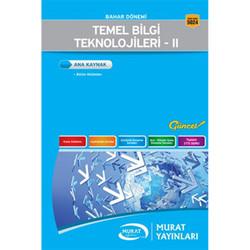 Murat Yayınları - Temel Bilgi Teknolojileri 2 Kod:5024 Murat Yayınları