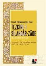 Kesit Yayınları - Tezkire-i Silahdar-Zade