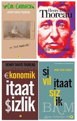 Thoreau Seti 4 Kitap Takım