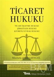 Temsil Kitap - Ticaret Hukuku