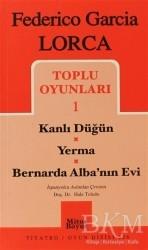 Mitos Boyut Yayınları - Toplu Oyunları 1 Kanlı Düğün / Yerma / Bernarda Alba'nın Evi