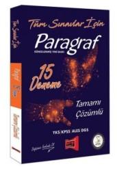 Yargı Yayınları - Tüm Sınavlar İçin Paragraf Tamamı Çözümlü 15 Deneme Yargı Yayınları