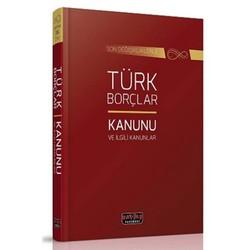 Savaş Yayınevi - Türk Borçlar Kanunu ve İlgili Kanunlar Savaş Yayınları