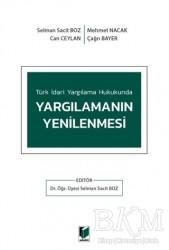 Adalet Yayınevi - Türk İdari Yargılama Hukukunda Yargılamanın Yenilenmesi