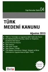 Beta Yayınevi - Türk Medeni Kanunu
