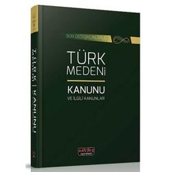 Savaş Yayınevi - Türk Medeni Kanunu ve İlgili Kanunlar Savaş Yayınları