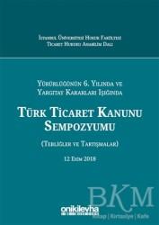 On İki Levha Yayınları - Türk Ticaret Kanunu Sempozyumu