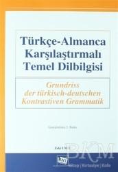 Anı Yayıncılık - Türkçe-Almanca Karşılaştırmalı Temel Dilbilgisi